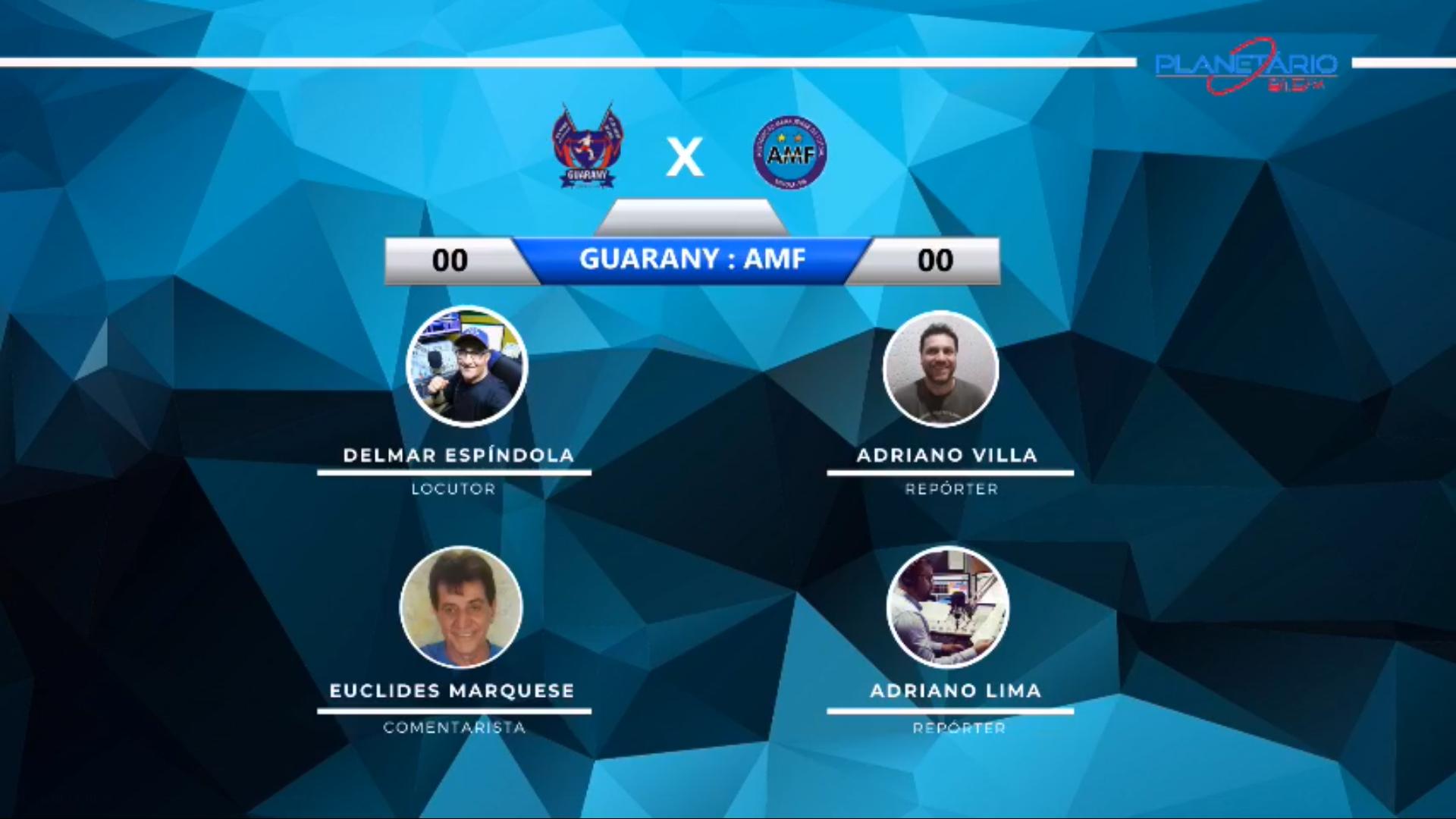 Jogo Guarany vs AMF em Espumoso