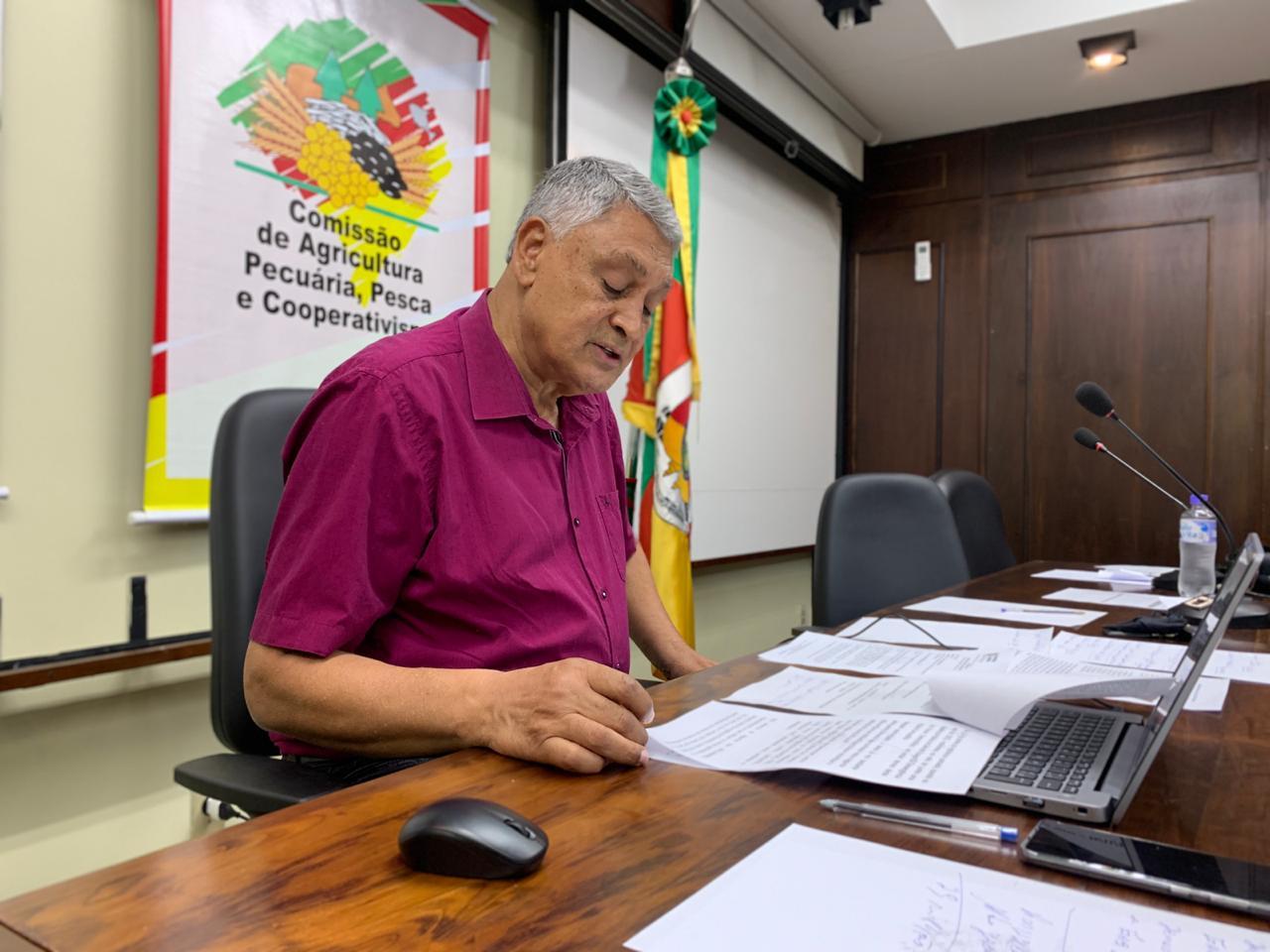 Comissão de agricultura será recebida pelo governador do Estado do RS