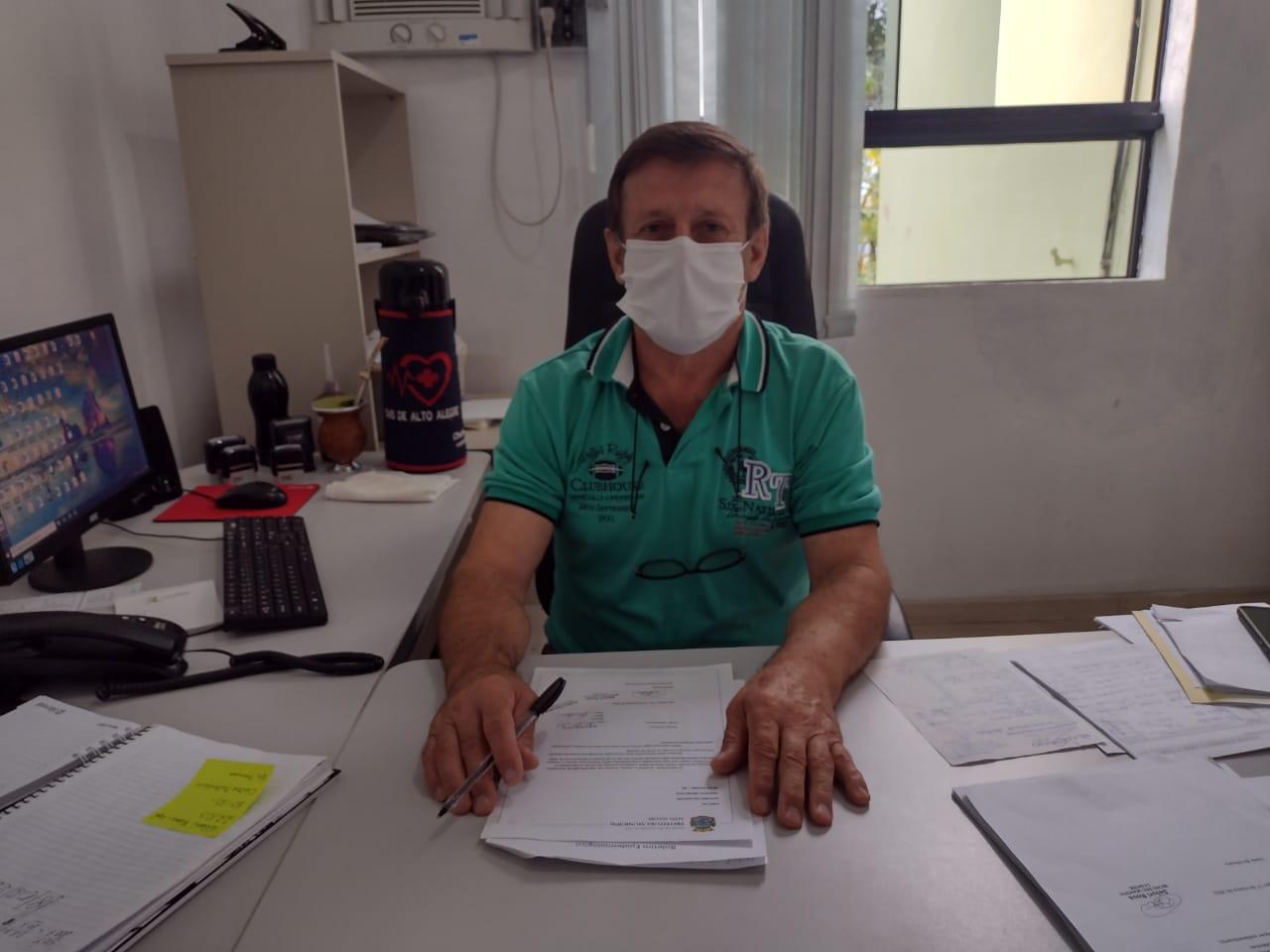 Secretário da Saúde de Alto Alegre volta as atividades após recuperação do covid-19