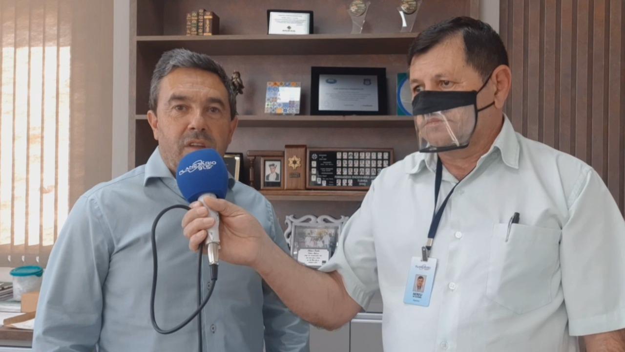 Juliano Camargo Pazinato avaliou o início da colheita da soja em nossa região