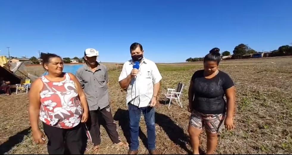 Terreno próximo ao CIMES é invadido por pessoas que querem moradia