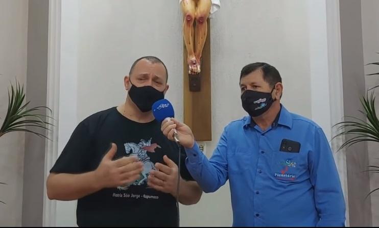 Semana Santa entrevista com o Padre Sandro Gianluppi da Paróquia São Jorge de Espumoso