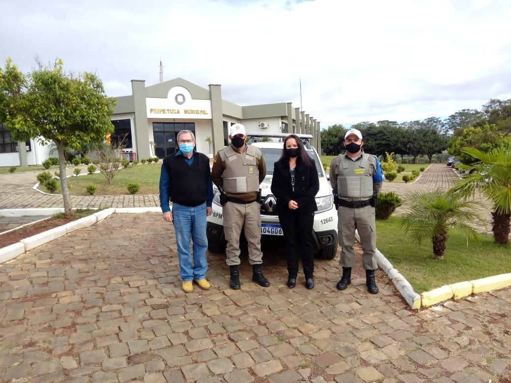 Brigada Militar de Jacuizinho recebe nova viatura