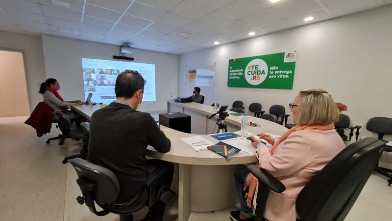 GT Saúde reforça necessidade de medidas mais restritivas em Santa Rosa, Ijuí e Passo Fundo