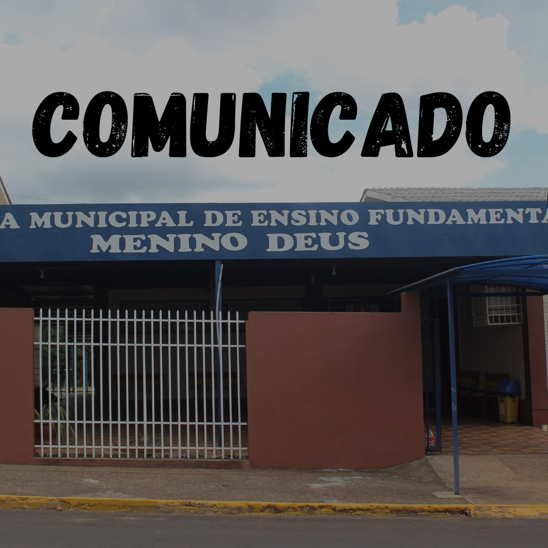 Suspensas as aulas em escolas da rede municipal de ensino em Campos Borges
