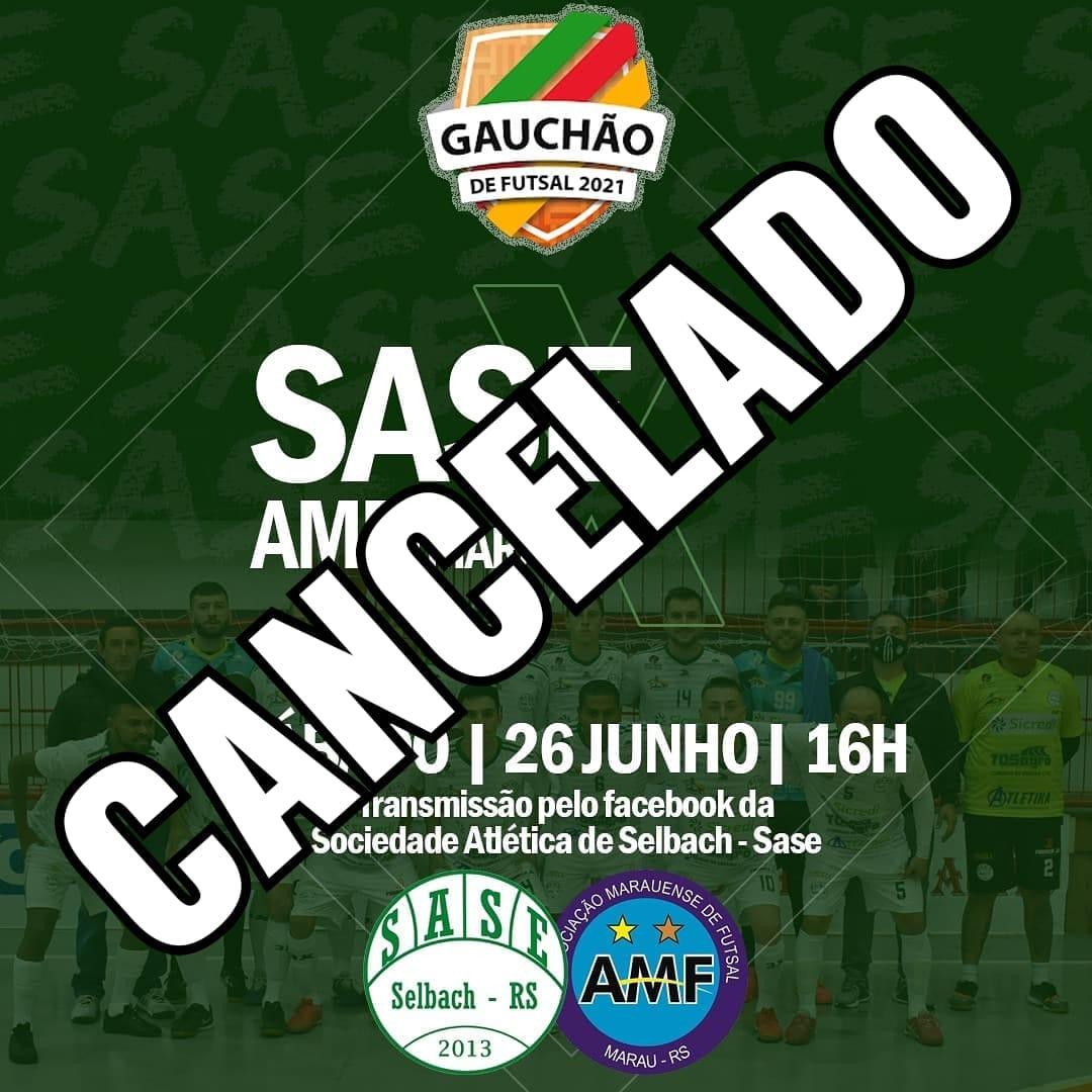 Após não ocorrer devido à umidade, jogo entre Sase de Selbach e AMF acontece dia 14 de julho