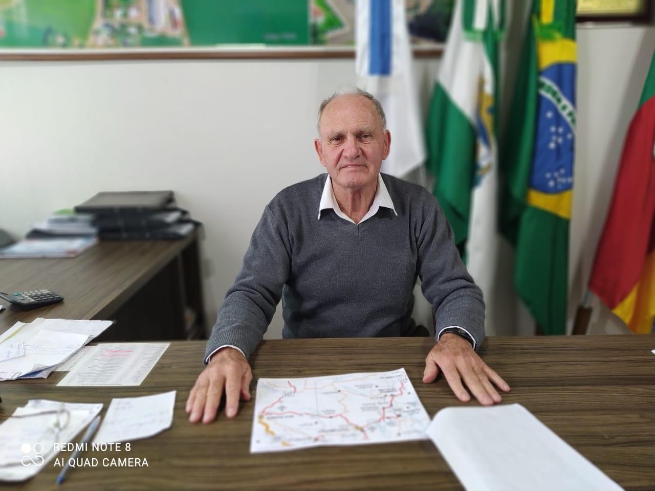 Alto Alegre busca asfaltamento da VRS 856