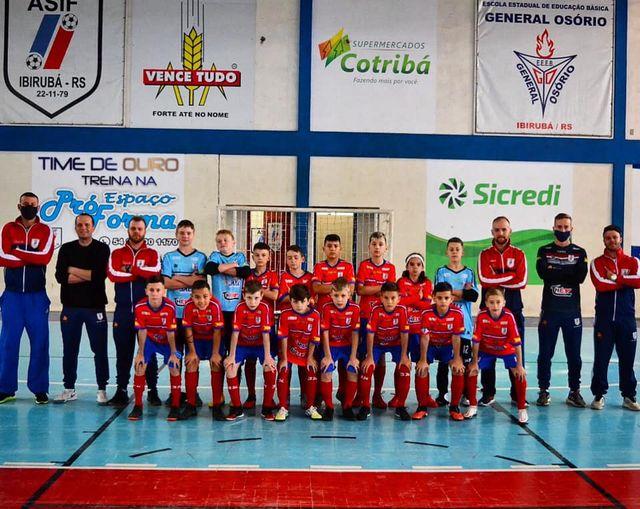 ASIF de Ibirubá é Campeã Estadual de Futsal Sub-11