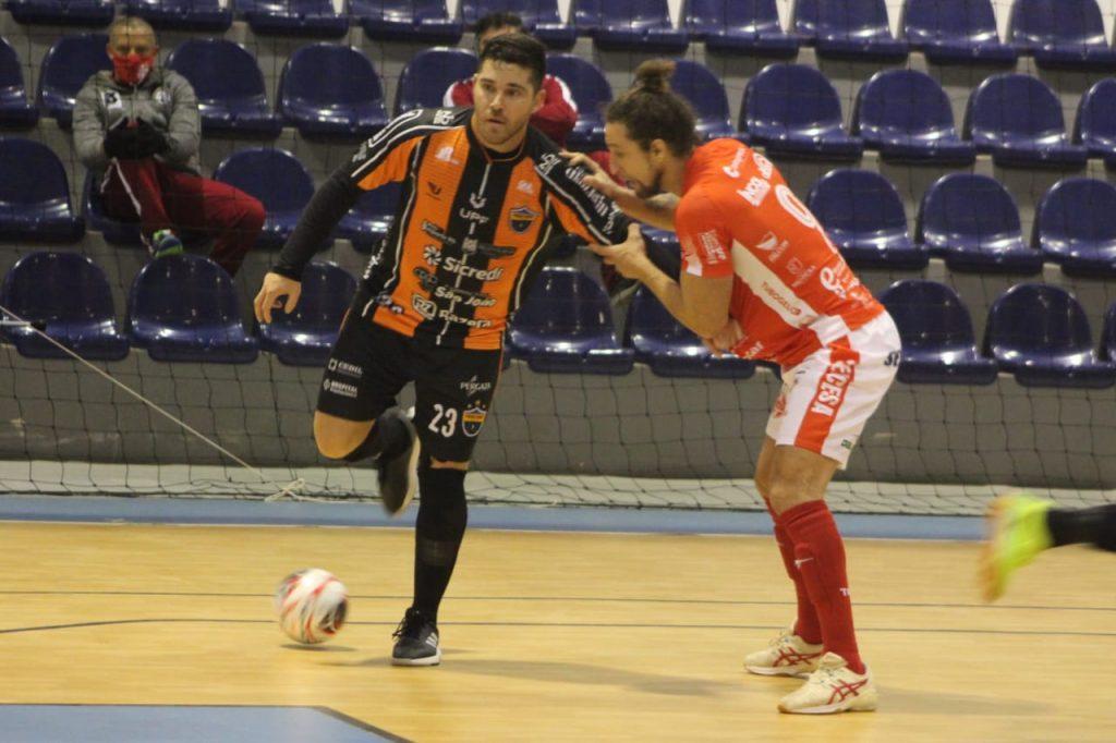 Passo Fundo Futsal leva a melhor no clássico regional contra a Sercesa