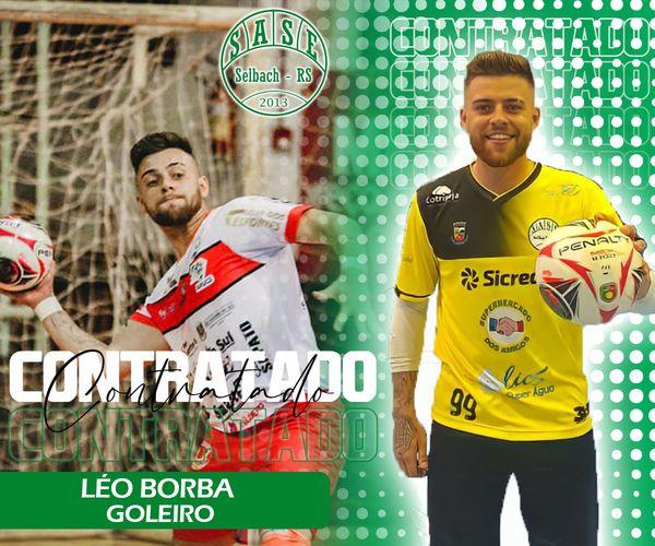 SASE de Selbach reforça elenco com o goleiro Léo Borba