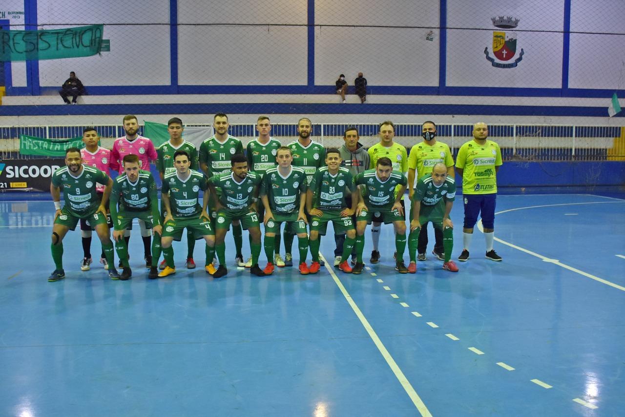 SASE de Selbach perde para Sercesa e está eliminada da Taça Farroupilha de Futsal Planalto
