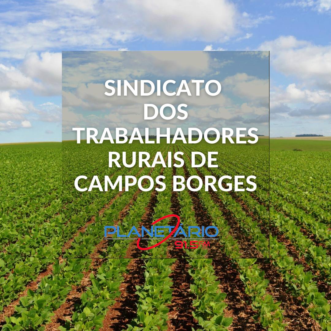 Programa do Sindicato dos Trabalhadores Rurais de Campos Borges