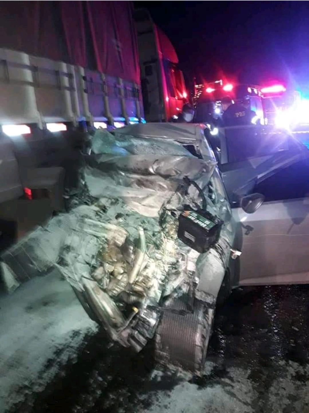 Confirmada identidade das vítimas do acidente na BR 386
