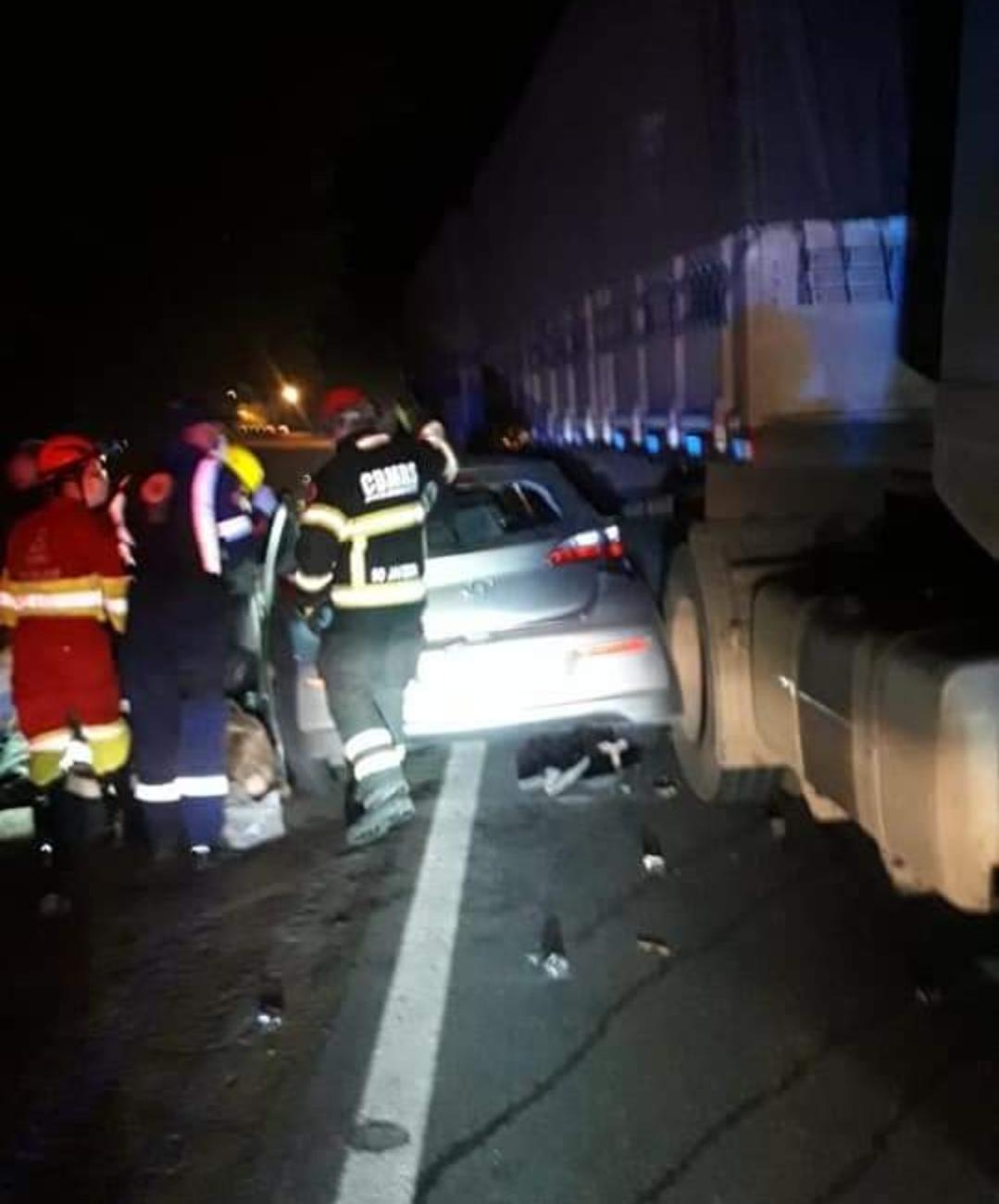 Quatro mulheres morreram em acidente na BR 386