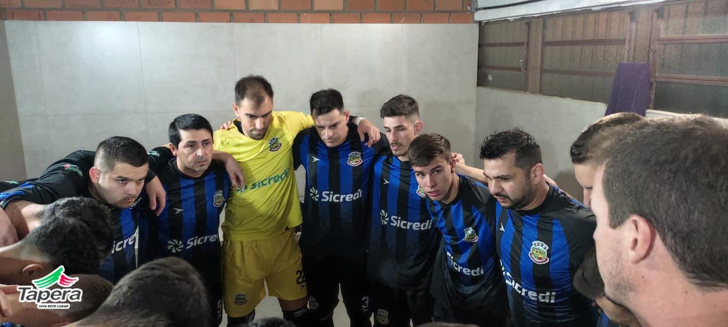 Taça TG Futsal: Tapera empata em casa com Milan de Ibirubá