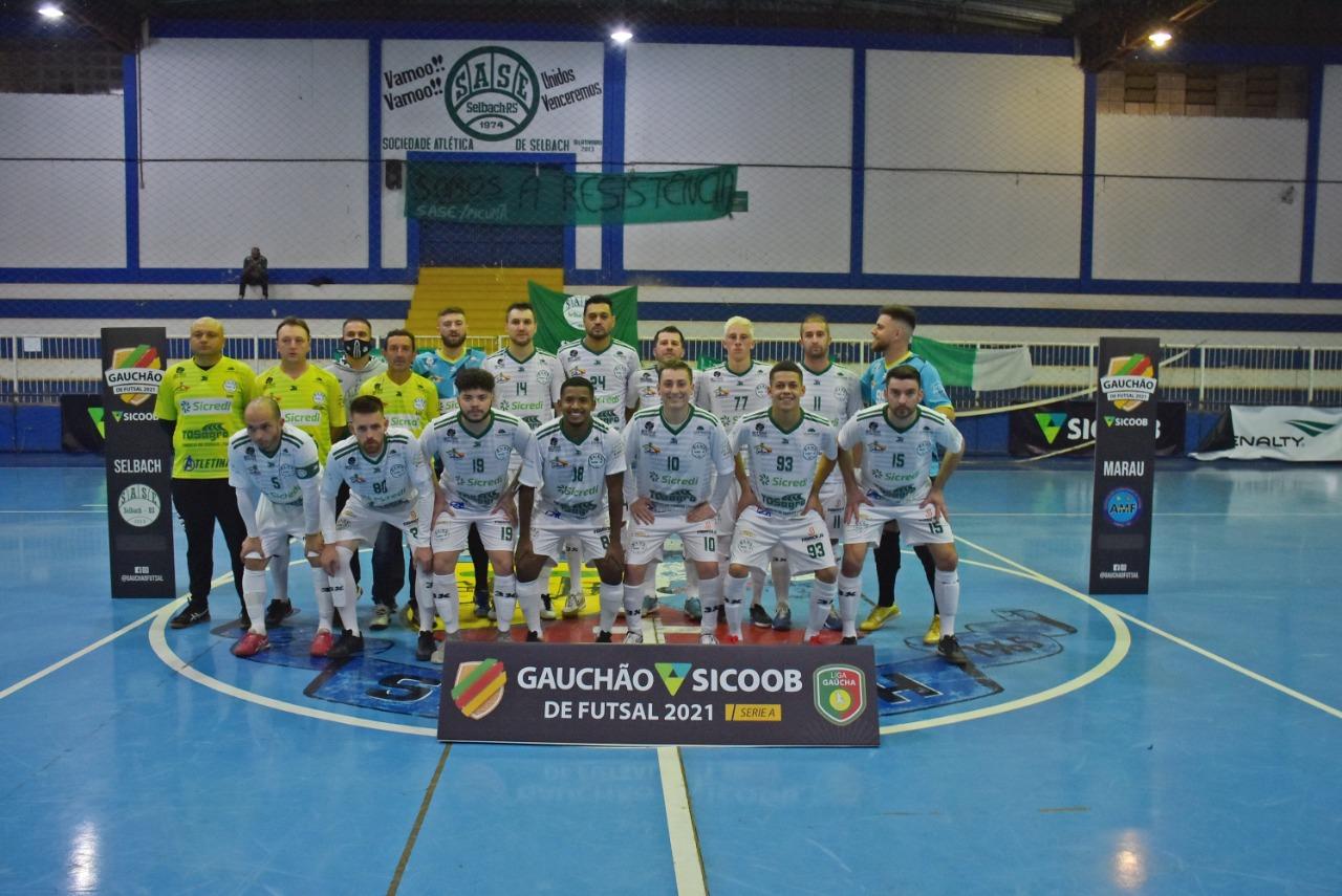 SASE conquista a primeira vitória no Gauchão de Futsal Série A