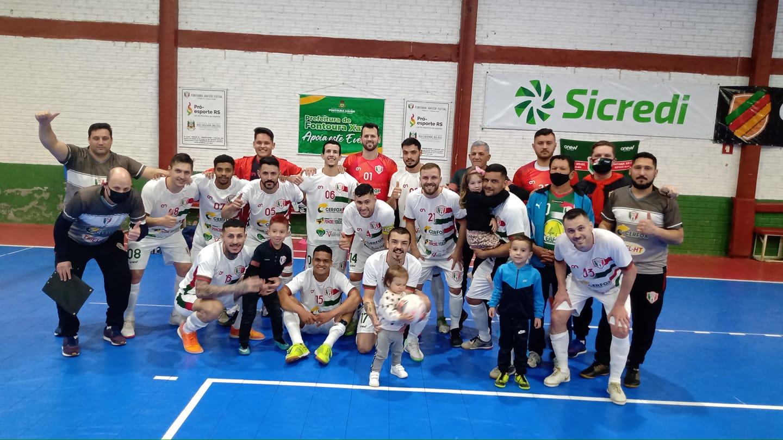 Fontoura Xavier lidera sua chave no Gauchão Série B de Futsal