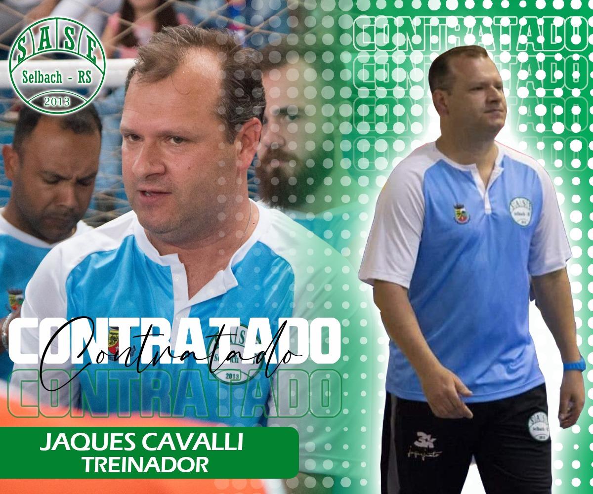 Espumosense Jaques Cavalli é o novo técnico da SASE de Selbach
