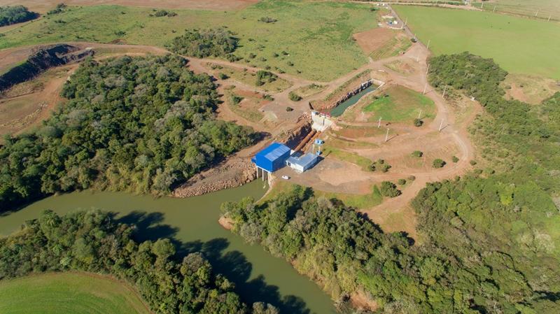 PCH da Coprel em Tio Hugo é beneficiada com R$ 96 milhões do BRDE