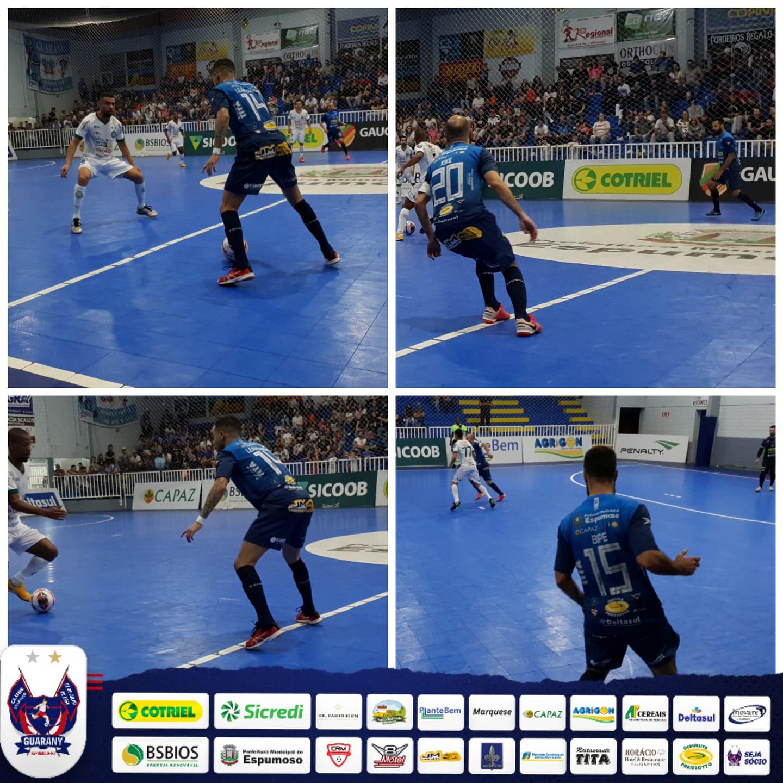 Confira o épico jogo do Guarany e Guarani Futsal