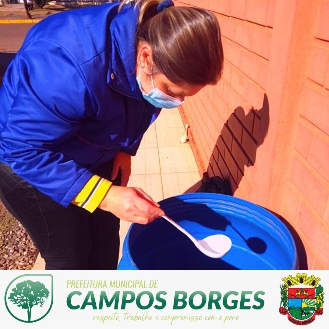 3° Levantamento de índice rápido de infestação do Aedes aegypty aconteceu em Campos Borges