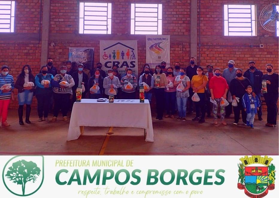 Programa Sementes beneficia famílias rurais de Campos Borges