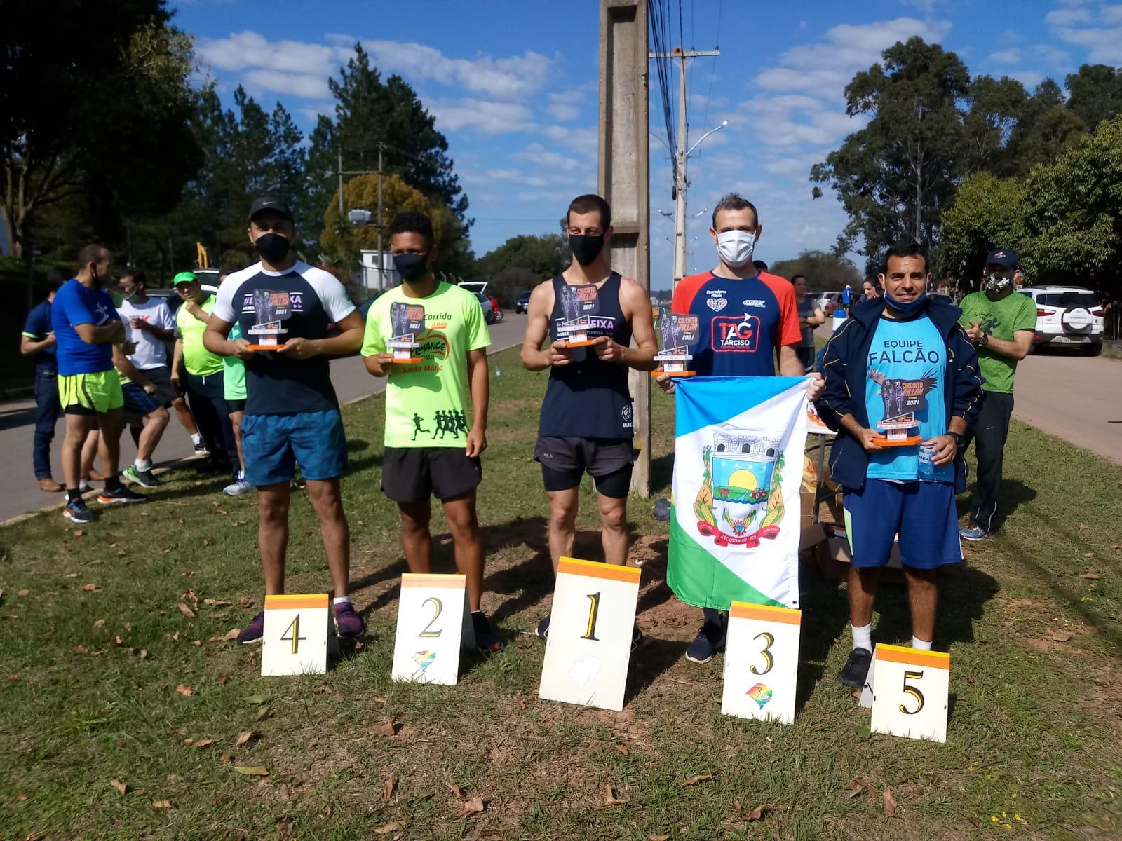 Atleta de Jacuizinho conquista o 3º lugar no Circuito de Corridas de Santa Maria