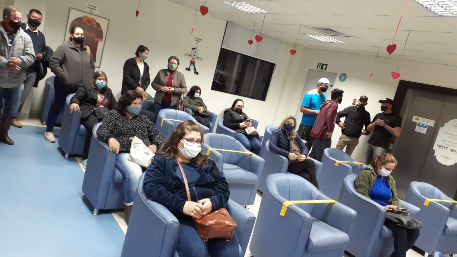 Saúde reativa Grupo de Doadores de Sangue em Alto Alegre