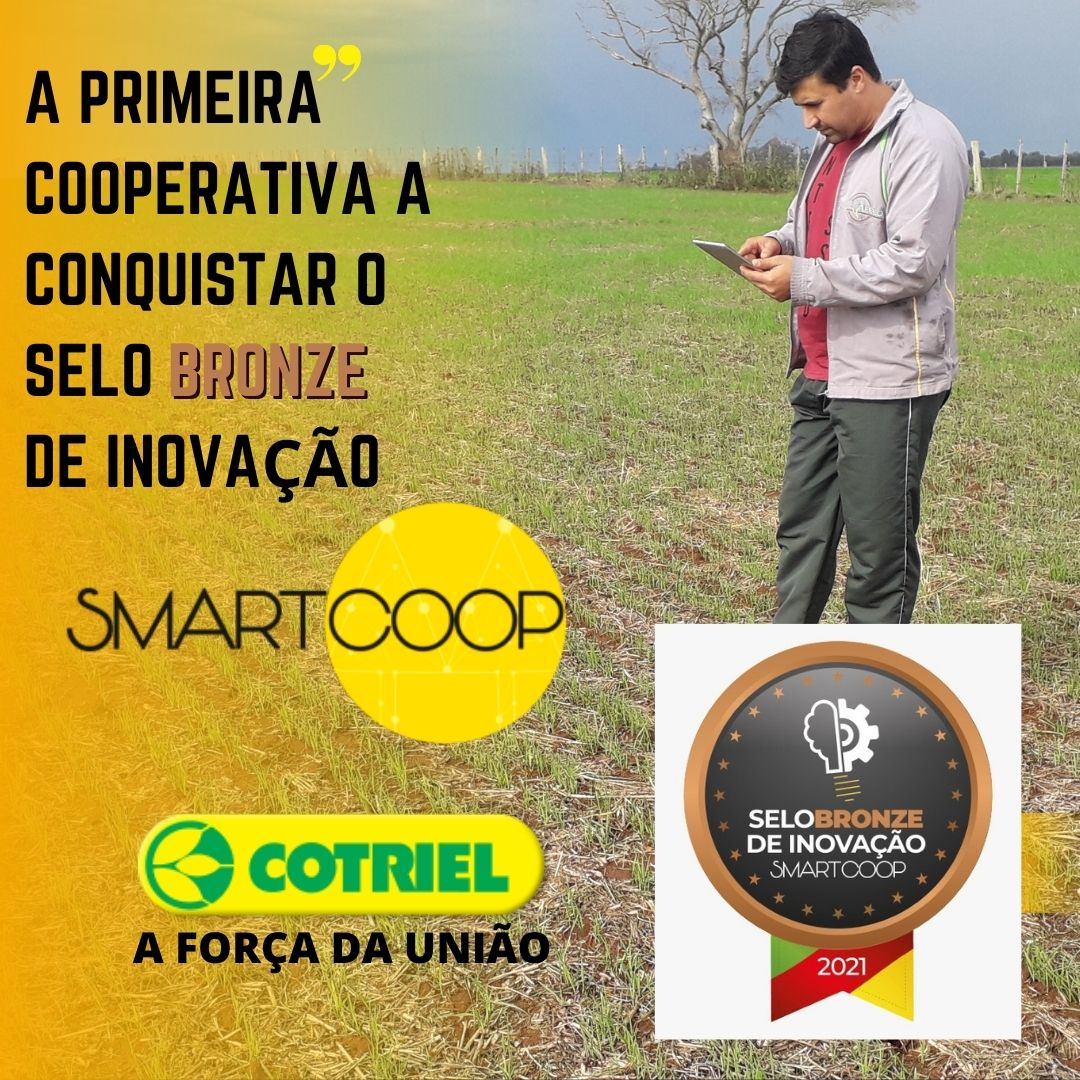 Cotriel é a primeira cooperativa a conquistar o selo Bronze de inovação Smartcoop