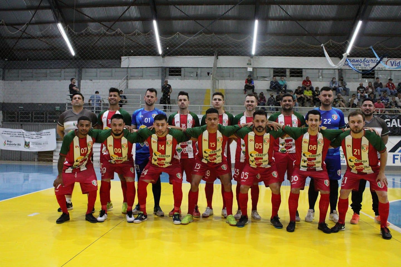 Fontoura Xavier se mantém na liderança do grupo do Gauchão Série B de Futsal
