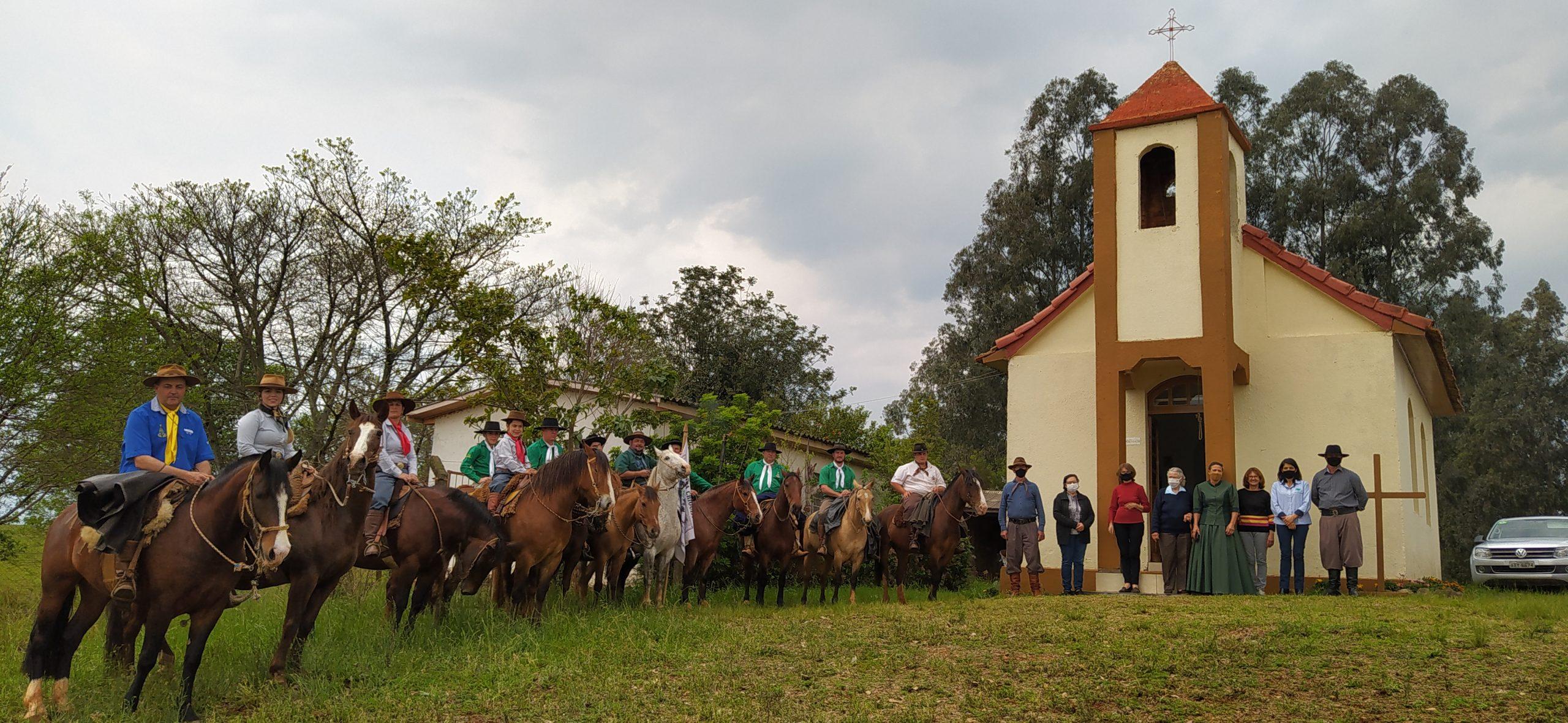 Entidades Tradicionalistas de Campos Borges iniciam comemorações da Semana Farroupilha 2021