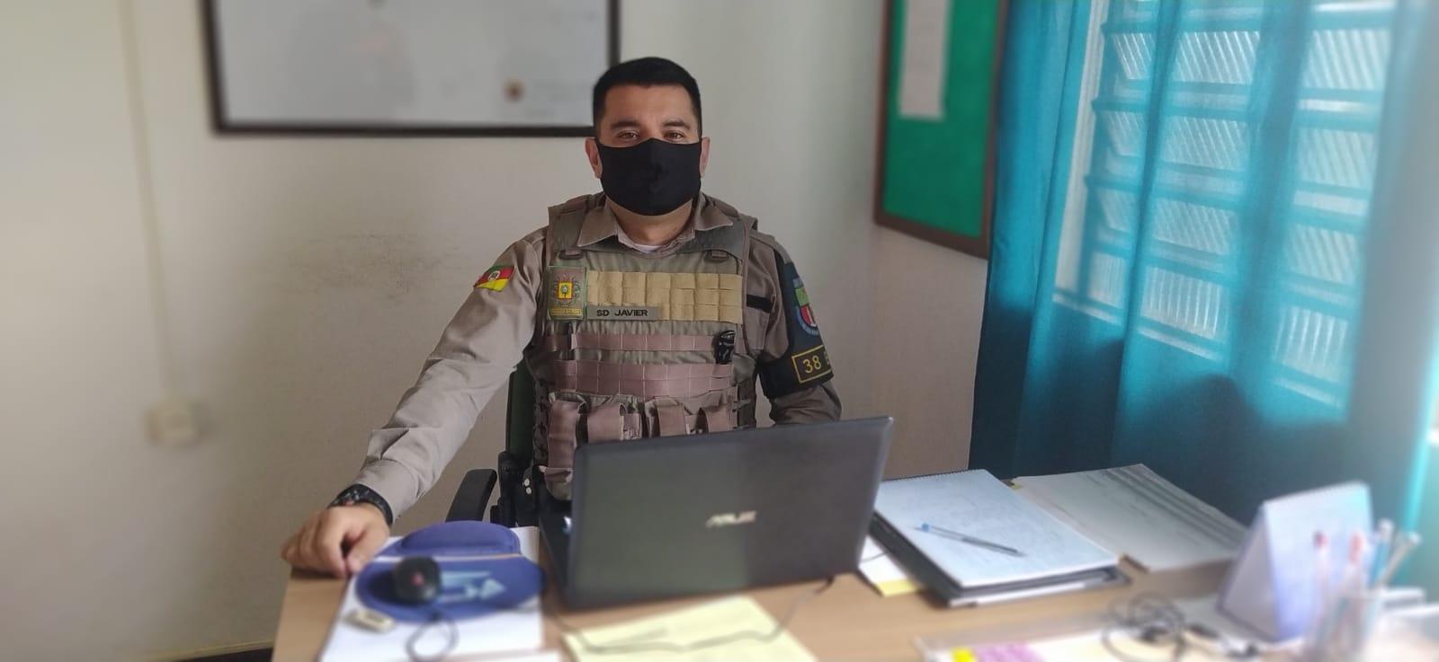 Comandante da Brigada Militar de Campos Borges destaca ações no município