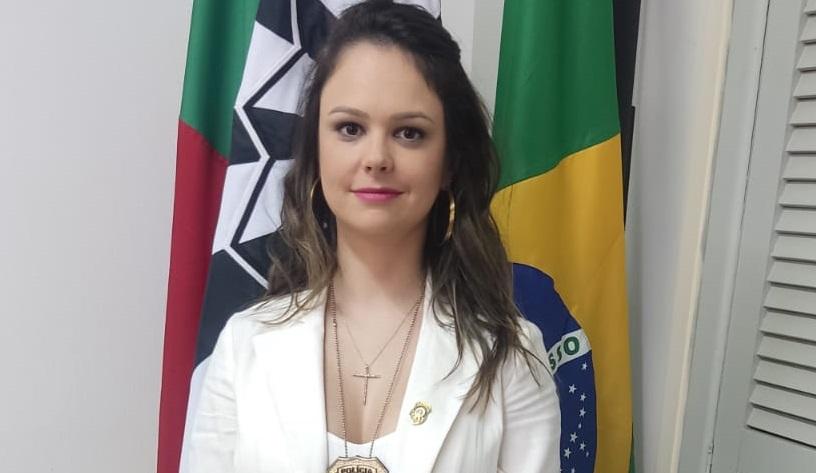 Tauane Bellio Andrighi é a nova delegada de Tapera