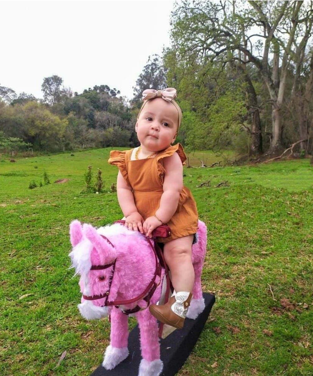Bebê de 11 meses, de Ibirubá, é contratada pela agência Dilson Stein