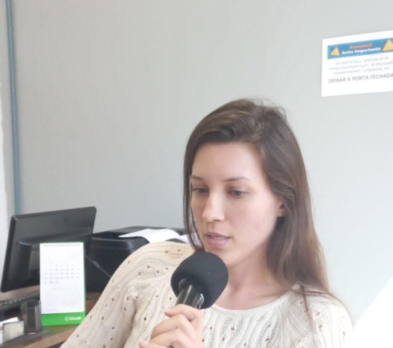 Delegada Jacqueline Pauli deixa mensagem para a comunidade espumosense