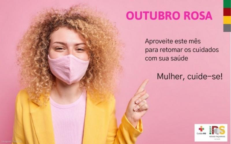 No Outubro Rosa, Secretaria da Saúde lança cartilha para a retomada de atendimentos e exames