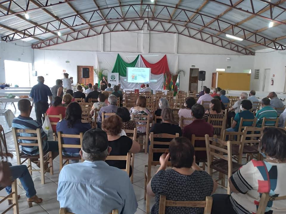 Sindicato dos Trabalhadores de Alto Alegre promove evento com idosos e posse da nova diretoria
