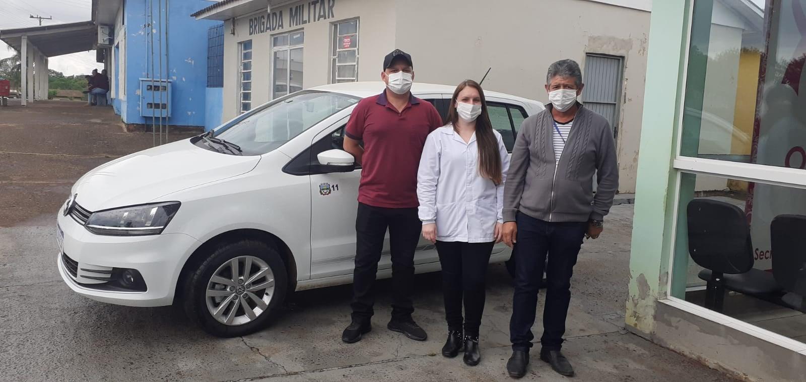 Frota da Secretária da Saúde de Jacuizinho conta com novo veículo