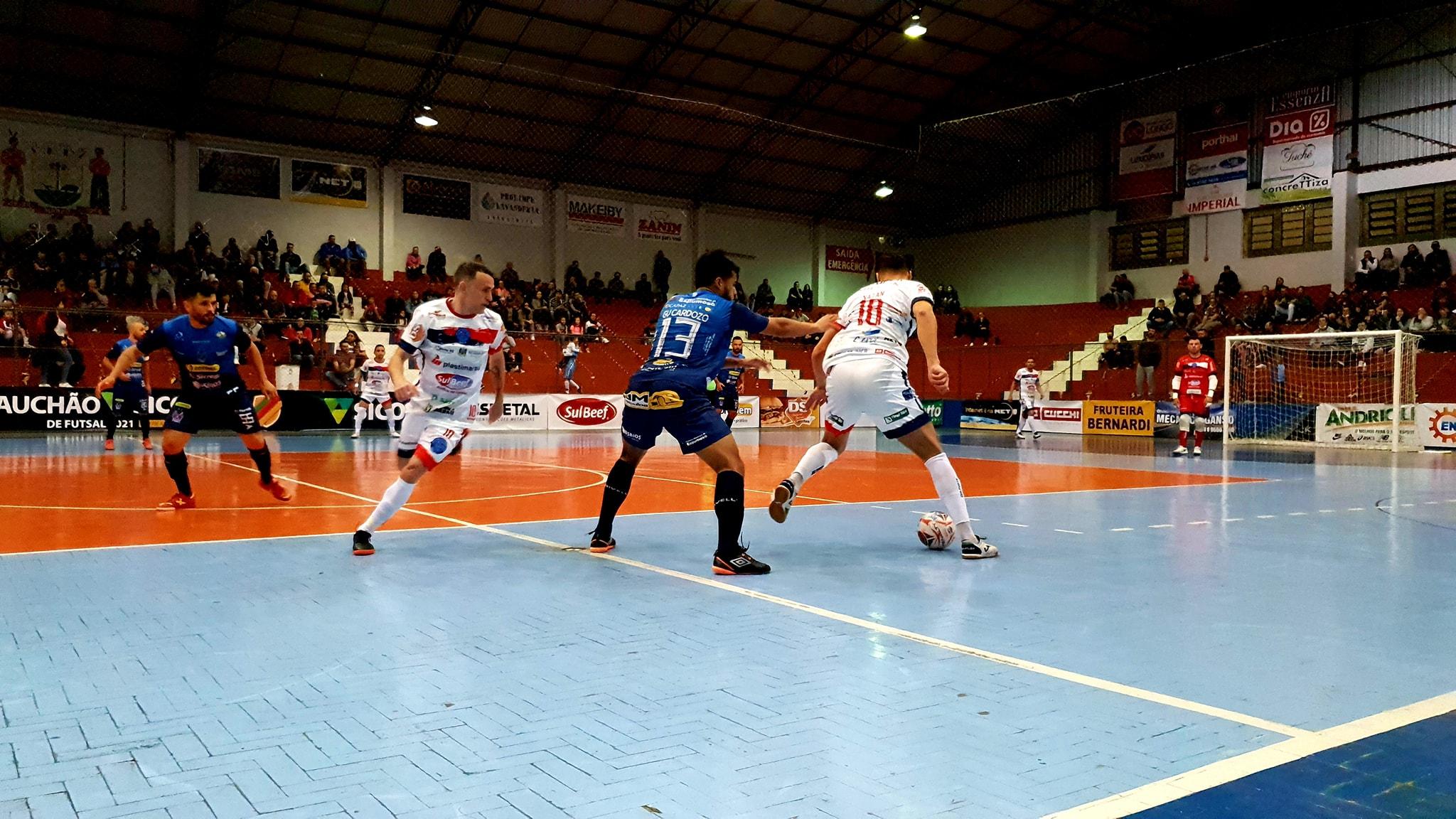 Guarany /Cotriel/Sicredi perde por 6 a 3 em Marau