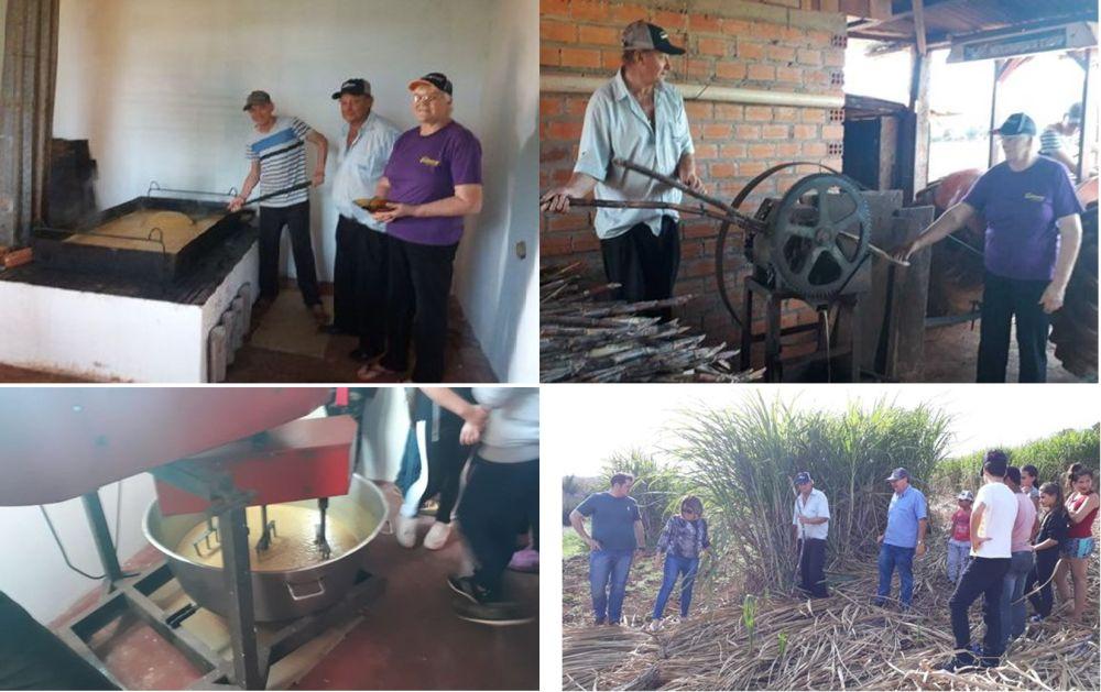 Em Tapera Emater incentiva a produção de melado