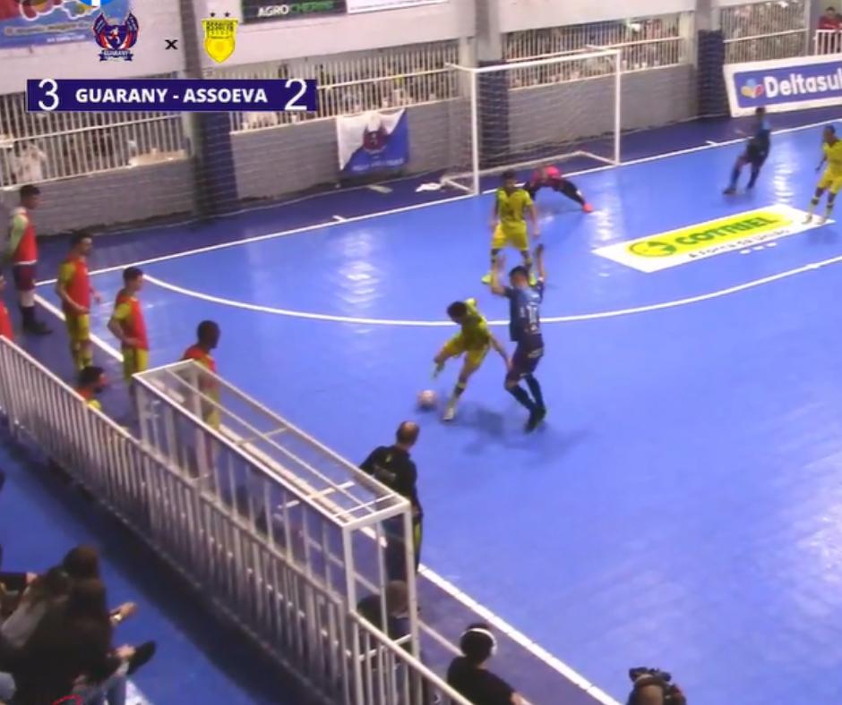 Guarany/Cotriel/Sicredi derrota Assoeva e termina a primeira fase em segundo lugar