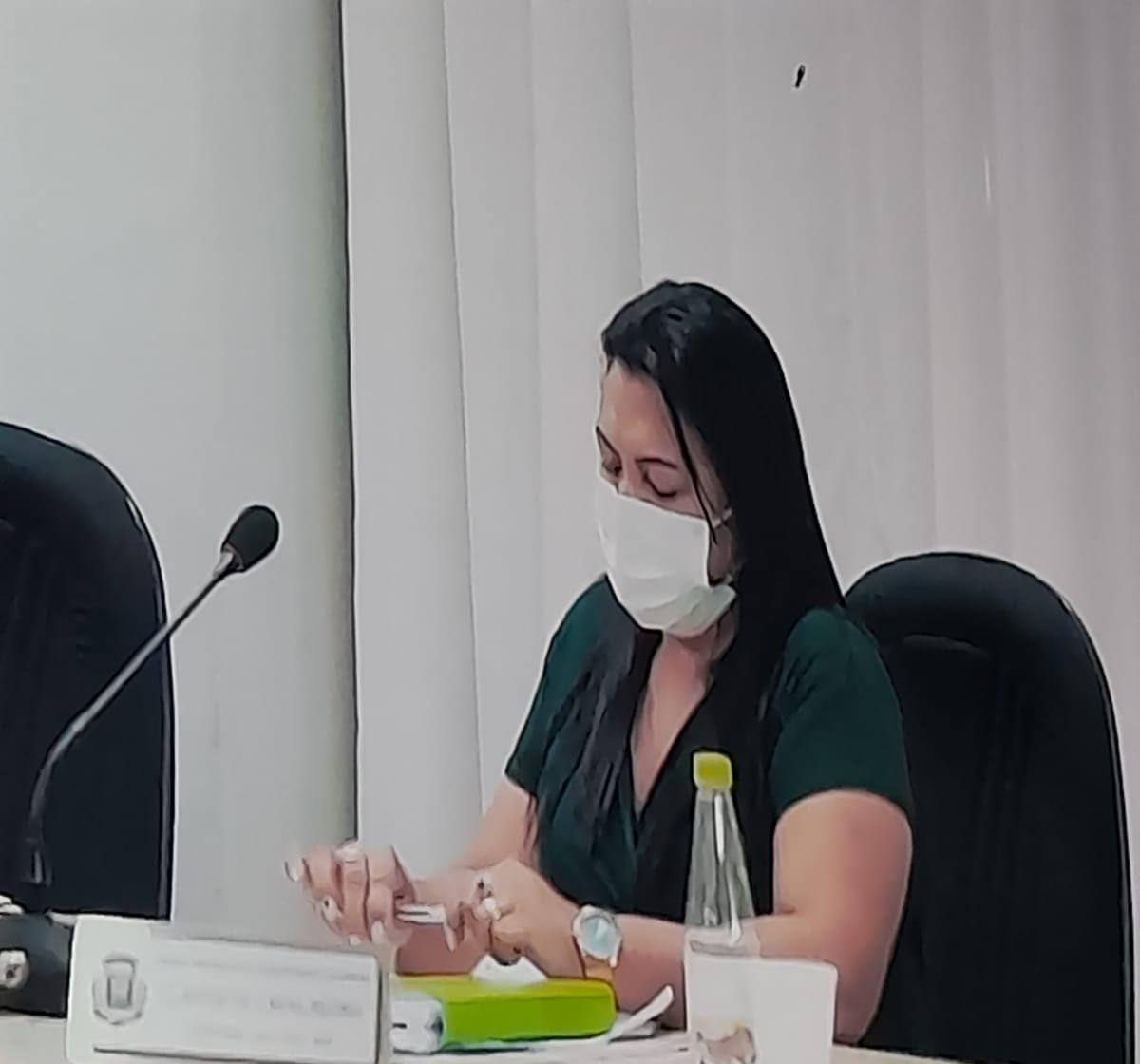 Vereadora Claudete pede a volta das câmeras de videomonitoramento