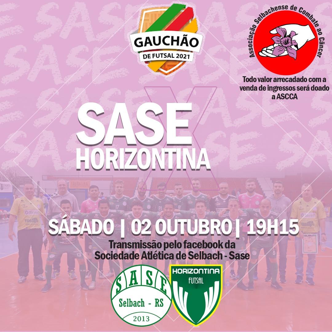Gauchão de Futsal Série A: Sase tem jogo decisivo neste sábado