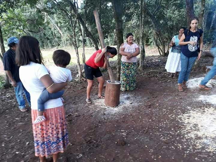 Dia do Índio tem atividades com a presença de autoridades estaduais nas aldeias de Salto do Jacuí