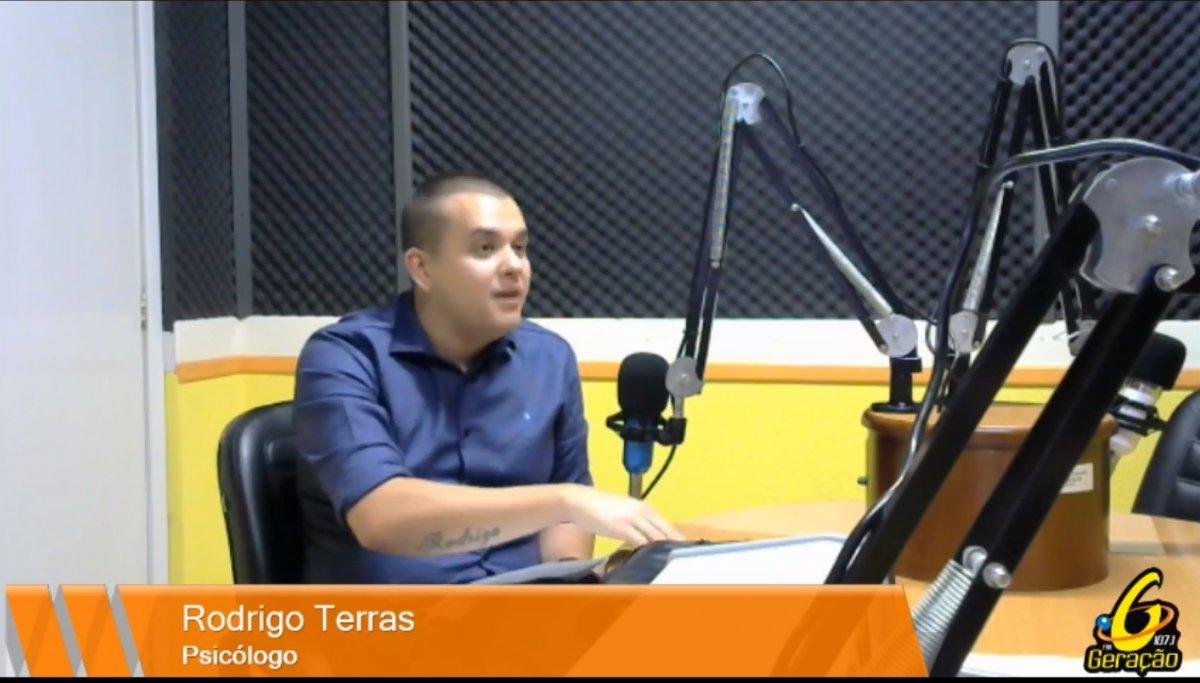 Live da Gera: Psicólogo Rodrigo Terras fala sobre Autismo