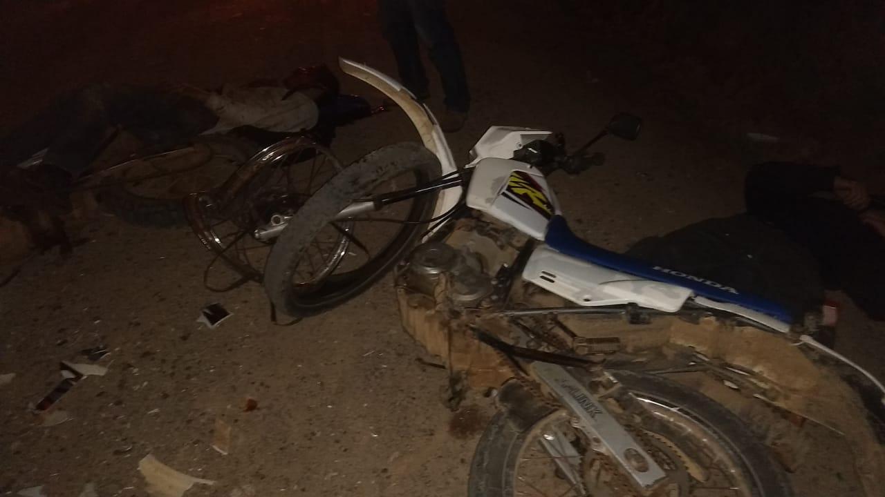 Acidente entre motocicletas deixa dois homens feridos em Ibarama