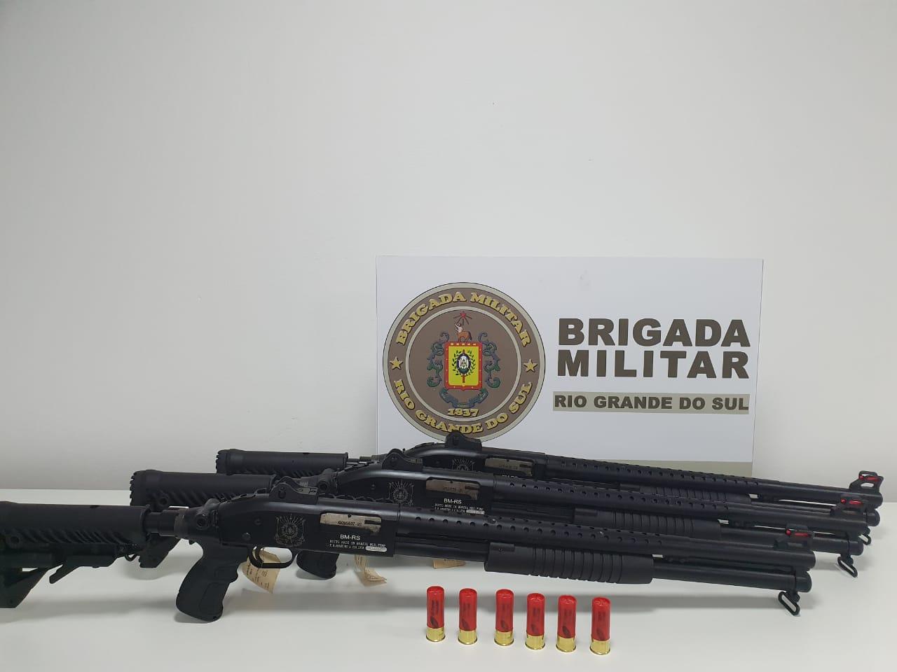 BM de Estrela Velha recebe carabina calibre 12
