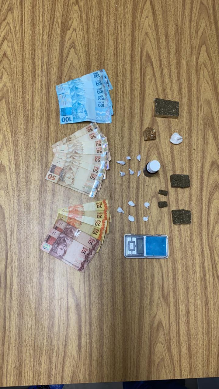 Outro homem natural de Arroio do Tigre é preso em Montenegro por tráfico de Drogas