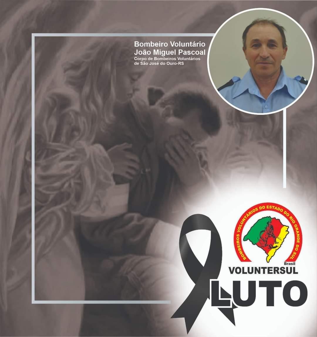 Bombeiros de Sobradinho prestam homenagem a bombeiro que morreu em acidente em São José do Ouro