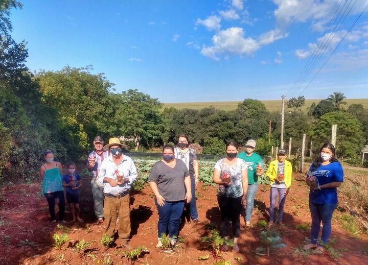 O projeto Horta Comunitária de Estrela Velha encerra atividades